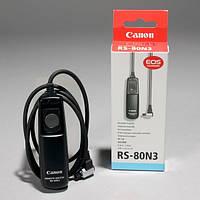 Пульт ДУ (тросик) RS-80N3 для фотоаппаратов CANON 5D, 5D Mark II, 5D Mark III, 7D, 6D, 10D, 20D, 30D, 40D,50D
