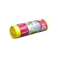 Мусорные пакеты с завязками на 20 л York HIM-Y-090650