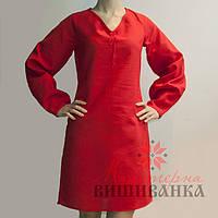 Заготовка платья под вышивку  СК-02 ч