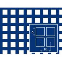 Лист перфорированный с квадратными отверстиями 6*6 шаг 10,0 толщина 1, мм размер 1*2 метра от Гост Метал