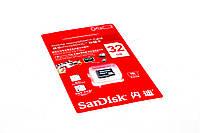 Карта памяти micro SDHC 32Gb SanDisk Ultra UHS-I 48MB/s (10 class)
