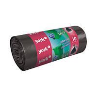 Прочные пакеты для мусора на 120 л York HIM-Y-090530