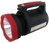 Переносной аккумуляторный фонарь LUXURY 2886, 5W+22SMD, power bank