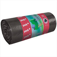 Прочные пакеты для мусора на 240 л York HIM-Y-090550