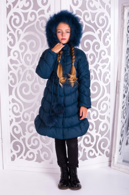 Пальто зимнее для девочек, фото 1