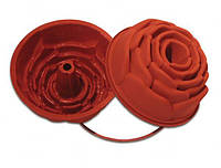 """Форма для выпечки """"роза"""" d22 см h10 см силикон Silikomart"""