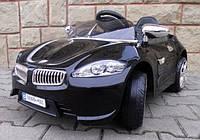Детский электромобиль на аккумуляторе Cabrio B3 Черный с пультом управления ( радиоуправление )