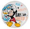 Тарелка десертная Luminarc Disney Party Mickey круглая без борта d20 см ударопрочное стекло (4866L)