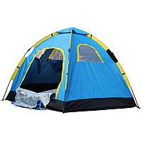 Туристическая палатка 3-х местная (17768) однослойная