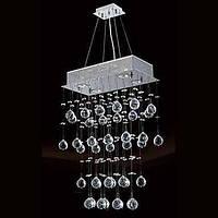 200W Современные потолочное освещение с 4 фары и Кристалл бисера Подвески (GU10 Base) 00555729