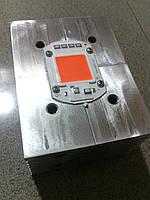 Фито светодиод COB  50вт (w), полный спектр для роста растений, с встроенным драйвером 220В на радиаторе