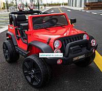 Электромобиль Джип M 3469EBLR красный