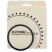 Ультратонкий защитный cветофильтр ZOMEI 55 мм с мультипросветлением MC UV - Slim