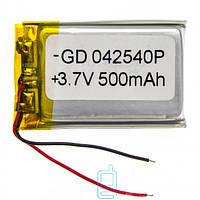 Аккумулятор GD 042540P 500mAh Li-ion 3.7V