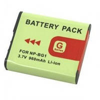 Аккумулятор NP-BG1 (NP-FG1) для фотоаппаратов Sony (аналог) - 960 ma