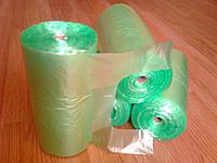 Пакет майка в рулоне 26*48 см 500 шт. в рулонах, 12 мкм прочные, фасовочные полиэтиленовые пакеты упаковочные