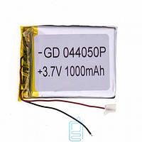 Аккумулятор GD 044050P 1000mAh Li-ion 3.7V