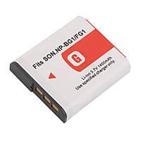 Аккумулятор NP-BG1 (NP-FG1) для фотоаппаратов Sony (аналог) - 1400 ma