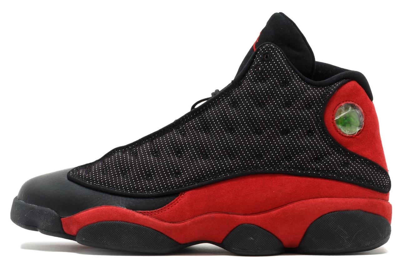 0222f20b Мужские кроссовки Nike Air Jordan 13 Black Red - Магазин обуви Brand Market  (бренд онлайн