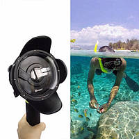 Подводный бокс DOME PORT от SHOOT для камер Xiaomi YI (код № XTGP314)