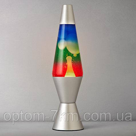 Лавовая лампа Лава лампа Хамелеон Ночник Светильник 35 см. (Lava Lamp)