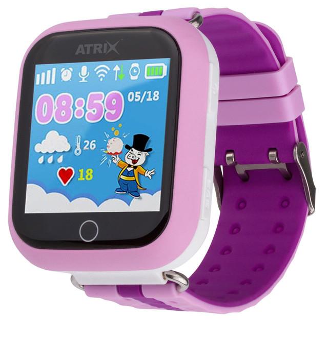Смарт-часы Atrix SW iQ100 Touch Pink