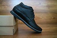 Мужские зимние ботинки с нат.кожи VanKristi Черные 10496 размеры: 40 41 42 43 44 45