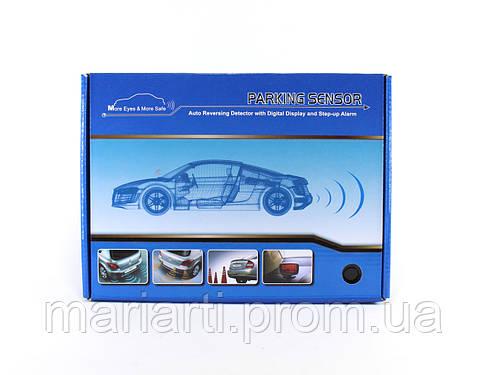 Полный комплект парктроникод для установки в авто на 4 датчика LD 3800, фото 2