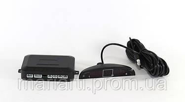 Полный комплект парктроникод для установки в авто на 4 датчика LD 3800, фото 3