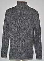 Тёплый, плотный свитер. В составе шерсть (L) Tu Premium