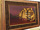 """Схема на ткани для вышивания бисером """"Кот"""" (серия Элит)., фото 2"""