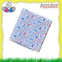 Ситцевая пеленка 95х110 см