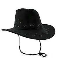 Шляпа Ковбоя Детская (черная)