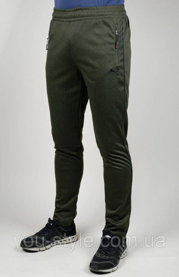 Мужские спортивные брюки Puma 4359 Хаки - Интернет магазин
