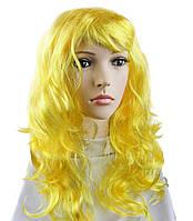 Парик Волнистый (желтый)