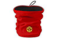 Горловик (бафф) Манчестер Юнайтед красно-черный 2 в 1 , фото 1