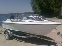 Моторная лодка «ЛИРА 420» 2013 год