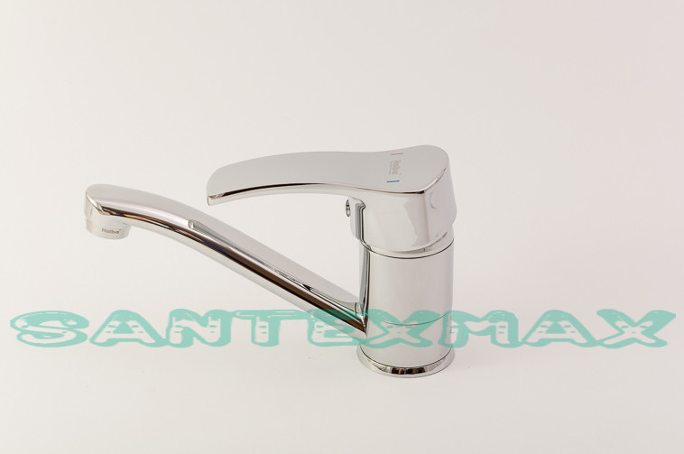 Длинный смеситель для раковины Haiba Focus 004 15 см