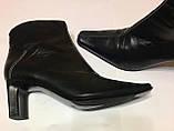 Шкіряні підлозі чобітки ботильйони donna 40 р, фото 4