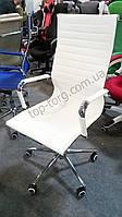 Кресло офисное Solano artleather white, белое, белый