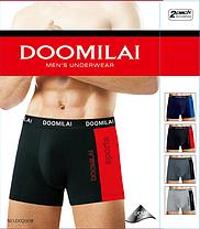 """Мужские боксеры стрейчевые марка """"DOOMILAI"""" Арт.D-02008, фото 2"""