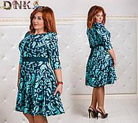 Платье женское клеш 50,52,54,56 , фото 1