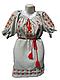 """Женское вышитое платье """"Хрупкие розы"""" PL-0010, фото 2"""