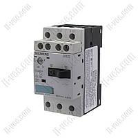 Автоматический выключатель защиты двигателя 3RV1011-0JA15 0,7-1A Siemens