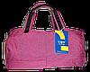 Симпатичная женская дорожная сумка розового цвета FQP-726331
