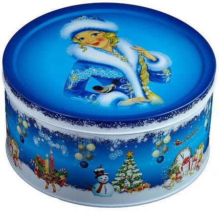 """Подарок """"Мультяшка 3XL"""" в большом жестяном тубусе Снегурочка, 510г, фото 2"""