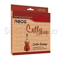 Alice A806 Струны для виолончели сталь/хром