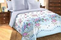 Двухспальное постельное белье с европростыней
