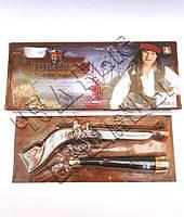 Набор пирата в коробке(пистолет и подзорная труба)