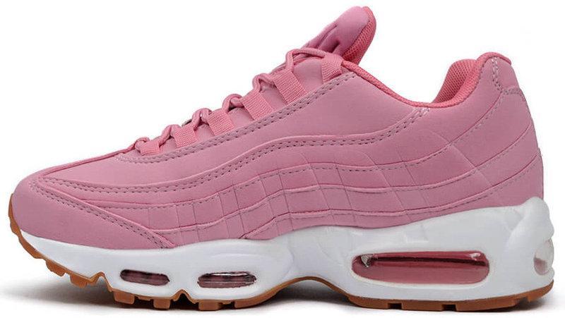 Кроссовки женские Найк Nike Air Max 95 Pink Oxford. ТОП Реплика ААА класса.